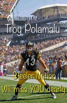 Troy Polamalu is retiring from football