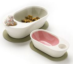 Zen Pet Dish Dog Milk Feeder Homemade Food Bowl