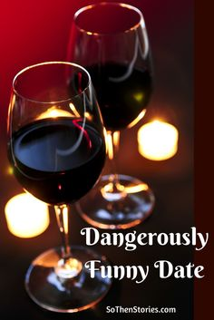 Dangerously Funny Date -- Crisis Conspiracy in a Dim-Lit Restaurant