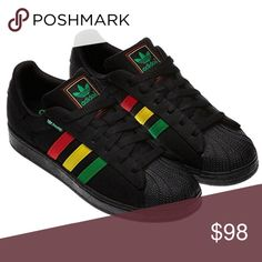 Adidas Superstar II Hemp Rasta Sneakers