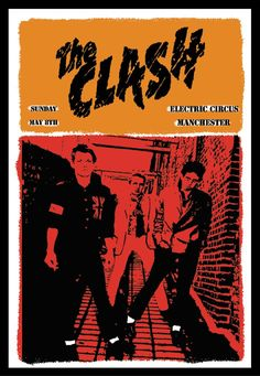 Clash Concert Poster