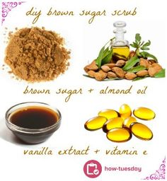 How-Tuesday! Here's a recipe for a DIY Brown Sugar Scrub from  @Matty Chuah Ritz-Carlton Dove Mountain! Perfect for kissing dry winter skin goodbye!   http://thewell.spafinder.com/diy-spa-recipe-ritzcarlton-dove-mountains-brown-sugar-scrub/