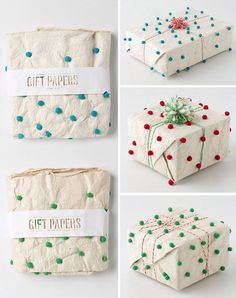 The Cutest Holiday Wrapping via Burton Girls! #laylagrayce #wrapping #holiday