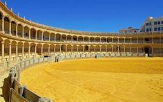 Plaza de toros de Ronda, Malaga - Andalousie (Espagne)