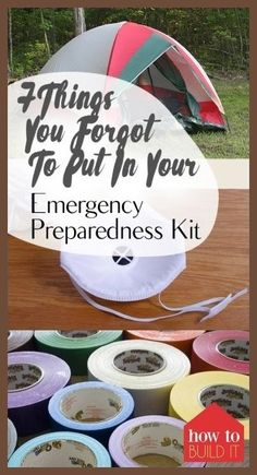 Emergency Preparedness, How to Prepare for Emergencies, Emergency Preperation, Items to Include in A Emergency Emergency Preparedness Food, Hurricane Preparedness, Emergency Supplies, Survival Food, Survival Prepping, Survival Skills, Survival Supplies, Camping Supplies, Survival Stuff