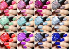 Fashion Polish: Colors by llarowe Spring 2016 collections swatches and review : A Tribute to a Wonderful Friend & Creme and Shimmers