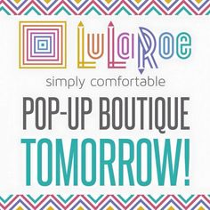 Online Pop Up - Saturday, September 17th at 5pm CST.   https://www.facebook.com/groups/ShopLuLaRoeDeborahNelson/
