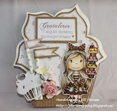 New day and new month ♥ That means new challenges too :) I have a few cards to show today as we are both having a. Dere, Art Impressions, Scrapbook Supplies, Little Darlings, Handmade Christmas, Scrapbooks, My Ebay, Kids Boys, Maya