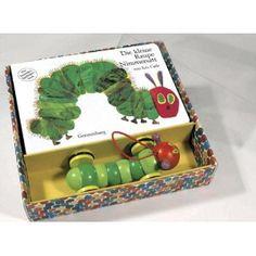 Die kleine Raupe Nimmersatt. Pappbilderbuch und Holzspielzeug: Das besondere Spielbilderbuch