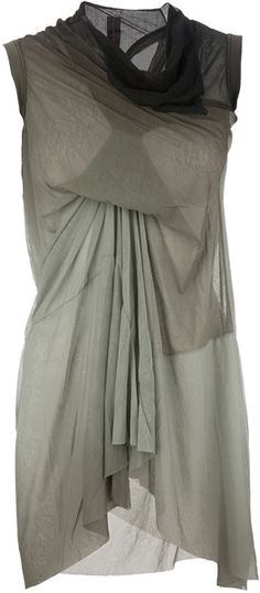This RICK OWENS Draped Top