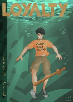 As a son of Poseidon, Percy's fatal flaw is loyalty.  He will do just about anything to protect his friends. Which is both a good and bad thing, especially for a demigod.