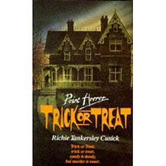 Point Horror Trick or Treat Richie Tankerlsey Cusick. I read this novel every Halloween. It just gets better with every read! I have to say it is one of my favourite Point Horror stories. Books To Read, My Books, Horror Tale, Horror Books, Horror Stories, 90s Nostalgia, Teenage Years, Viera, Book Collection