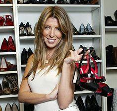 Nina Garcia - shoe storage.
