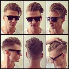 By adding highlights or blonde look you can make your Quiff quite boyish and classy. This style gives you neat and clean look. Best for any formal occasions. This kind of dyes is very popular in the list of Quiff Hairstyles for Men 2017.