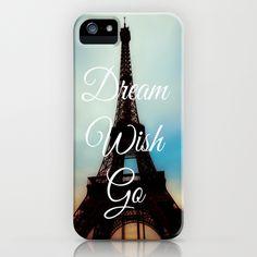 Dream Wish Go iPhone Case