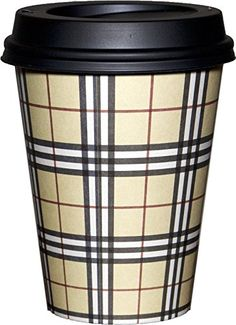 Black disposable coffee cups - Kitchen & Dining: Home & Kitchen Coffee Talk, Coffee Shop, Barista, Disposable Coffee Cups, Modern Lodge, Hot Cocoa Bar, Wedding Cups, Break Room, Espresso Coffee