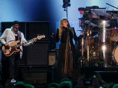 The title of Fleetwood Mac's 15-month world tour 'On With The Show' felt especially fitting as the heavens opened above Mt Smart Stadium in Auckland last night in a pre-summer monsoon - New Zealand Herald