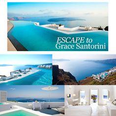 The Grace Santorini Capsule Wardrobe via Style Passport. Perfect Wardrobe, Summer Days, Jet Set, Santorini, Capsule Wardrobe, Us Travel, Passport