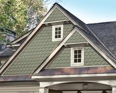 Best 44 Best Fish Scale Siding Images In 2017 Shingle Siding 400 x 300