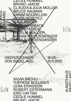 GroenlandBasel, Überzeichnen. Von Basel aus, Kunsthausbaselland, Basel/ Muttenz, 2015
