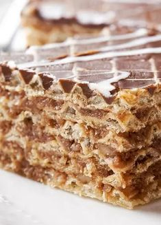 Albanian Recipes, Bosnian Recipes, Bulgarian Recipes, Croatian Recipes, Sweet Desserts, No Bake Desserts, Sweet Recipes, Dessert Recipes, Fun Baking Recipes