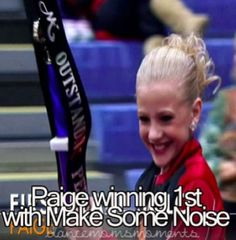 "Paige Hyland in ""Make Some Noise"" I was so happy for her she really did deserve this! Dance Moms Paige, Dance Moms Girls, Paige Hyland, Dance Moms Moments, Chloe And Paige, Dance Moms Confessions, Dance Moms Facts, Dance Mums, Show Dance"