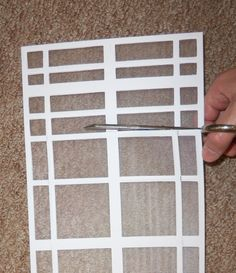 The Magnetic Vent Filter Is A Soft PVC Grid Device With A Washable  Polypropylene Mesh Media