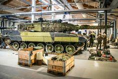 "bmashina: ""Service tanks Leopard 2a5 dk armed forces of Denmark. """