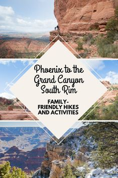 Are you visiting the Phoenix, Arizona area? Thinking of taking a trip up to Sedona and the Grand Canyon? These are the family-friendly hikes and experiences we had over one week.
