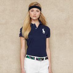 12d236aee Wimbledon Cotton Polo Shirt - Blue Label Big Pony - Ralph Lauren UK Ralph  Lauren Uk