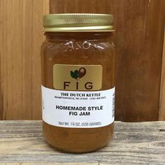 FIG JAM Dutch Kettle Homemade Style Fig Jam BEST IN THE SOUTH 19oz Pint #DutchKettle