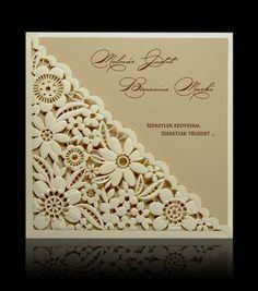 Esküvői meghívó D 0703 Decorative Boxes, Frame, Cards, Wedding, Home Decor, Weddings, Card Wedding, Invitation Cards, Invitations