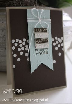 Stampin Up Happy Birthday