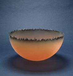Cityscape, by Jay Musler, 1981 Fused Glass, Glass Beads, Blown Glass, Corning Museum Of Glass, Glass Museum, Glass Ceramic, Art Festival, Sculpture Art, Art Decor