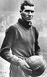 Deaths Today In Sports History: 1959 - Elisha Scott was an Irish football goalkeeper who most notably played for Liverpool from 1912 to 1934 (still holding the record as their longest-serving player). Elisha Scott died after a series of strokes.  keepinitrealsports.tumblr.com  keepinitrealsports.wordpress.com