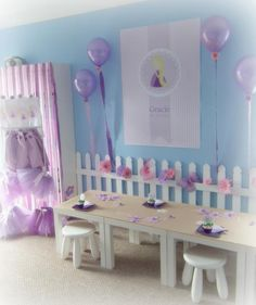 Rapunzel Party Ideas | The Rapunzel party ideas and elements to look for from this fun ...