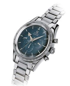 The @omegawatches Speedmaster (1957) was destined to become the most famous chronograph in the world because of its use by NASA for the Apollo program.  Full story @ http://www.watchtime.com/featured/7-milestone-omega-watches-from-1892-to-today/ #omega #watchtime #menswatches #chronograph