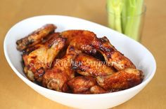 My Kitchen Snippets: Oven Baked Chinese Five Spice Chicken Wings