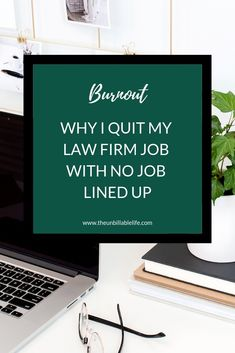 My story - from law firm associate in New York to unemployed. Why I quit my job with nothing else lined up. The short answer is - I was totally burned out and stressed. Job burnout is real. Career Success, My Career, Career Change, Career Advice, Job Burnout, Stress Burnout, I Quit My Job, Get The Job, Work Life Balance