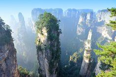 The+Floating+Islands+of+Zhangjiajie