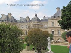 #Luxembourg #Palace Paris France.  Located in the northern part of the Luxembourg Gardens, this is the seat of the French Senate.
