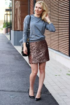 Sweater & Sequins.