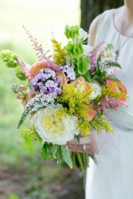 Simple + Elegant Meadow Wedding - Style Me Pretty
