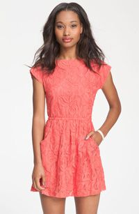 Fire Knotted Open Back Lace Dress($48) -- Fashion has never been so sweet, don't you think?