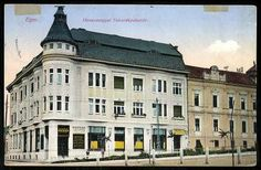 1915. Eger, Hevesmegyei Takarékpénztár | Képcsarnok | Hungaricana Hungary, Multi Story Building, Mansions, House Styles, Home Decor, Mansion Houses, Decoration Home, Manor Houses, Villas