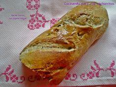 Walnut bread. Pan de nueces.