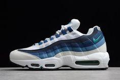 size 40 07ca1 b13ac Nike Air Max 95 OG White Emerald Green-Court Blue-Slate 554970-131