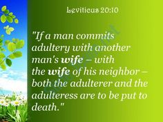 leviticus 20 10 the adulteress shall surely be put powerpoint church sermon Slide03http://www.slideteam.net