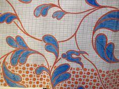 Pattern for silk weaving, via Flickr. (Source: Kommercekollegiet, Industri- og fabriksfagets sekretariat. Instruktionsbog til silkevævning, 1800. (pk. 2708).