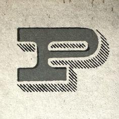 P : Type Fight // Design by Dan Gnielding